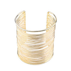 Pulseiras Algema ( Chapeado Dourado ) - Pesta / Diário / Casual
