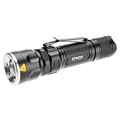 Sipik SK96 Zoom 3-Mode Cree XM-L T6 LED Flashlight (1000LM, 1x18650/3xAAA)