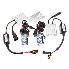 12V 35W H4-2 8000K HID Xenon Lamp Conversion Kit Set (Luminance: 2900LM)
