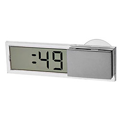 1.7 Inch LCD Suction Cup Digital Clock