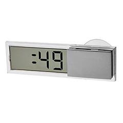 1,7 pulgadas LCD de succión Copa Digital Clock
