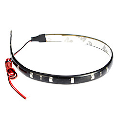 LED Light Strip 30cm, Rood / Wit / Blue-Ray