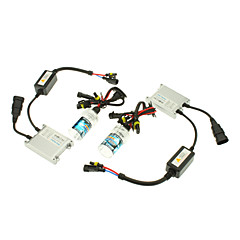 12V 35W H3 HID Xenon Lamp Conversion Kit Set (Slim Ballast)
