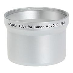 52mm lens en het filter Adapter Tube voor Canon A570 IS B52 Zilver