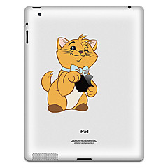 Bear Pattern Protective Sticker for iPad 1, iPad 2 ,iPad 3 and The New iPad