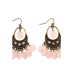 Z&X®  Antique Flavor Agate Stones Earrings