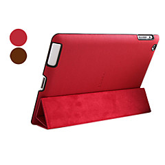 Microgroove Muster PU Ledertasche mit Ständer für iPad 4 und dem neuen iPad & iPad 2 (verschiedene Farben)