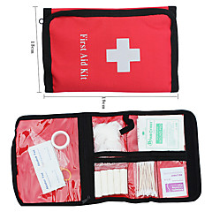 Nylon Portable First-aid Packet (Red)