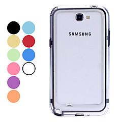 Caso do quadro Bumper de plástico para Samsung Galaxy Note N7100 2 (cores sortidas)