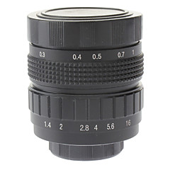 "50mm F1.4 CCTV Lens on Micro 2/3"" C (Black)"