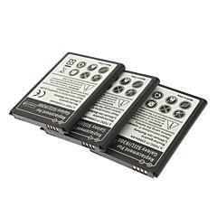 삼성 갤럭시 S3 I9300 (3 조각 팩)를위한 보충 3.7V 2300mAh 배터리