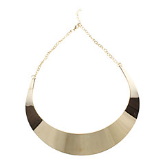 Necklace Choker Necklaces Jewelry Party / Daily Fashion Alloy Coppery 1pc Gift