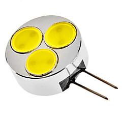 G4 3W 240-270LM 6000-6500K Natural White Light LED Spot Bulb (12V)