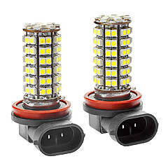 H11 5W 350LM 96x3528SMD White Light LED für Auto-Nebelscheinwerfer (DC 12-24V, 1-Pair)