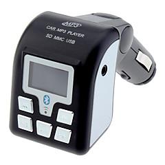 Multifunktionale MP3 Wireless FM Modulator-Player mit Bluetooth-Funktion für Fahrzeuge