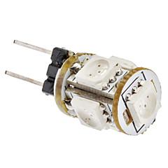G4 1W 5x5050SMD 65-75LM Red Light LED Corn Bulb (12V)