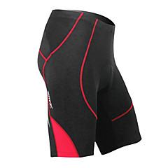 Coolmax traspirante Materiale Ciclismo MC05038R Santic uomini di estate mezzo Pantaloni - Rosso