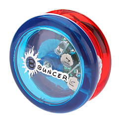 Bouncer POM Bearing Yoyo Toy with LED (Yellow,Green, Red-Blue)