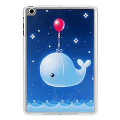 алмаз взгляд мультфильм синий кит рисунок случай для Ipad Mini 3, Ipad Mini 2, Ipad мини
