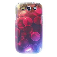 Matte Style Dreamlike Circle Pattern Durable Hard Case for Samsung Galaxy S3 I9300