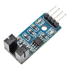 LM393 σύγκρισης μονάδα αισθητήρα ταχύτητας (για το Arduino)-μπλε (λειτουργεί με την επίσημη (για arduino) Πίνακες)