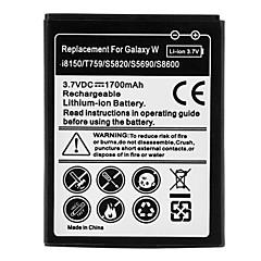 Sostituire 1700mAh Li-ion per Samsung M930/S5820/T589/T759 (3,7 V)