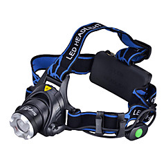 LED Flashlights/Torch / Headlamps LED 3 Mode 1000 Lumens Cree XM-L T6 18650 Camping/Hiking/Caving / Everyday Use / Cycling / Hunting -