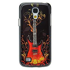 Patrón caso duro de aluminio Guitarra Moda para Samsung Galaxy S4 Mini I9190
