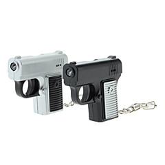 ABS Gun Styl Klíčenka s LED a hlasu (Random Color)