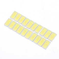 0.5W 5730SMD 50LM 6000K Cool White Light LED Lamp Bead