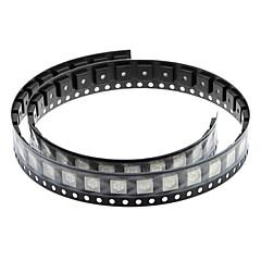 DIY 0.02W 5050SMD RGB LED Emitters - Valkoinen (50 kpl)