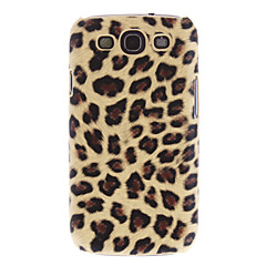 Leopard Rear Phone Case + 3 Pack Speil Guards for Samsung Galaxy S3 i9300