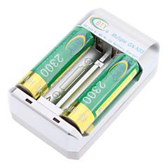 BTY GN-N95 2300mAh AA oplaadbare batterij met oplader (2 stuks)