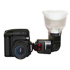 Diffuseur de Flash Lambency P4 pour Canon 550EX 580EX II 2 Color Dome