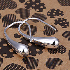 silver örhänge mode smycken Hoop Earrings4