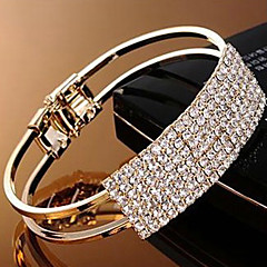 Elegant Crystal Bangle Armband (Assorted Color)