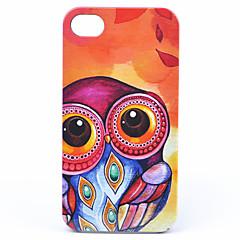 Joyland ABS Big Eyes Uil Back Case voor iPhone 4/4S