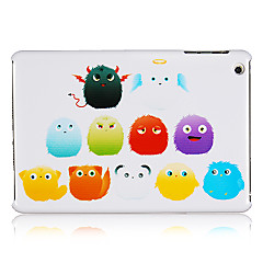 plysj ball monster plast tilbake tilfelle for iPad Mini 3, ipad mini 2, ipad mini