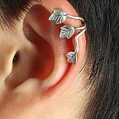 Z&X®  (1 Pc)European (Leaf) Silver Alloy Ear Cuffs(Silver,Coppery)