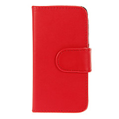 Solid Color Flip-open PU Full Body Case with Card Slot for iPhone 4/4S (Assorted Colors)