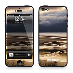 """Da Code ™ Skin for iPhone 4/4S: """"Rivers and Mountains"""" (Nature Series)"""