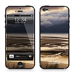 """Da Code ™ Skin till iPhone 4/4S: """"floder och berg"""" (Nature Series)"""