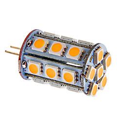 g4 4w 216lm 24x5050smd warmes / kühles weißes Licht-LED für Auto (DC 12V)