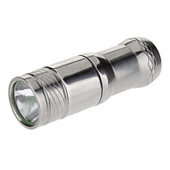 Trustfire MINI-01 3-Mode Cree XM-L T6 LED Flashlight (280LM, 1xCR123A, Silver)