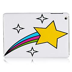 estrela amarela de plástico de volta caso para mini-ipad 3, mini iPad 2, iPad mini