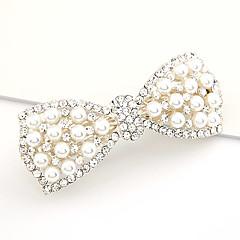 Søde Style Pearl Bowknot Barrete