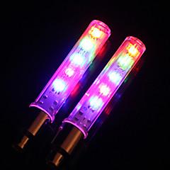 Cykellyktor / hjul lampor / Blinkande ventil LED Cykelsport Lumen Batteri Cykling-Belysning