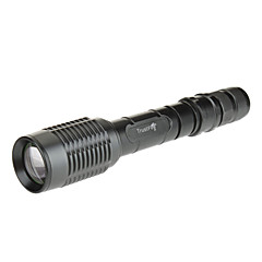 TrustFire Z5 5-Mode Cree XM-L T6 LED Zoom Flashlight (1600LM, 2x18650, Green)