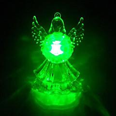 Fargerike Angel Christmas Light (tilfeldig farge)