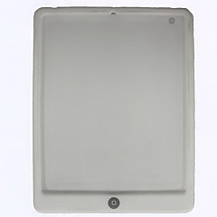 Soft Silicon Case for iPad 2 with One Button (White)